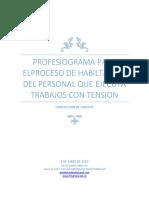 F-01-0- Profesiograma Proceso de Habilitacion Linieros Tct