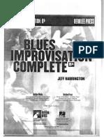 Blues Improvisation Complete - Berklee - Jeff Harrington