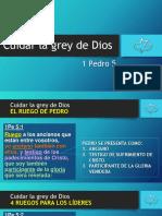 1 P 5 - Cuidar la grey de Dios.pptx