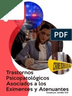 Trastornos Psicopatológicos Asociados a Los Eximentes y Atenuantes