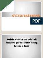 Penyuluhan Otitis Eksterna