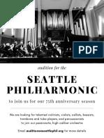 Seattle Philharmonic Audition Flyer v2