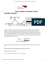 Network Security Chapter 3 Packet Tracer Activity Answer • Invisible Algorithm