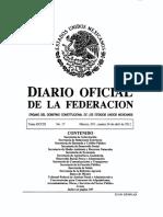 Reglamentos Tatuajes Federal Mexico