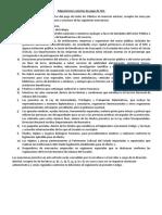 Adquisiciones Exentas de Pago de IVA