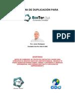 Sistema de Duplicacion Ecotor 2019