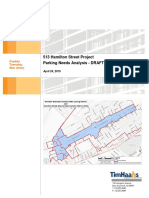 '513 Hamilton Street Project Parking Needs Analysis'