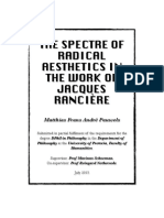 Pauwels 2015 the Spectre of Radical Aesthetics in the Work of Jacques Ranciere Doctoral Dissertation