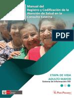 Actividades de Registro de Adulto Mayor 2019