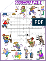 hobbies vocabulary esl crossword puzzle worksheets for kids.pdf