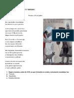 Lectura Independencia de Colombia