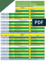 Fixture 29 Junio