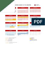 Academic Calendar 17-18 Semester