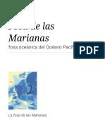 Fosa de Las Marianas