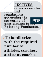 1. Screening Guidelines for Palaro 2019