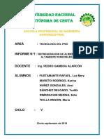 INF. N° 01 DE TECNOLOGÍA DEL FRÍO