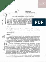 Sentencia FernandoRuelas TC