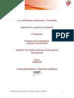 Unidad 3. El contexto mexicano de la log�stica internacional