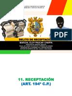 1.5. Delito de Receptacion - Mg. Marcial Paucar