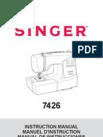 Singer 7426 Manual