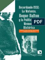 Recordando 1932. Hector Et al