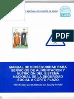 MANUAL DE BIOSEGURIDAD DE SERVICIOS DE ALIMENTACION