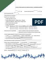 Cuestionario OI y Desmineralizadores