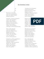 Die Poetischen Verben