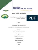 monografia ecolgia