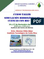Simulacion hidrologica
