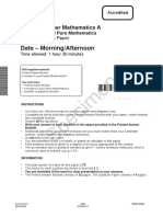 Additional Pure Sample Assessment Material With MS