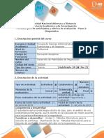 Guía de Actividades y Rúbrica de Evaluacion- Paso 2-Diagnóstico