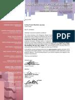 For Ar. Dimalanta Letter of Invitation
