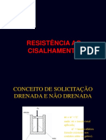 Aula  4 - Resistência ao Cisalhamento
