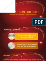 Redemption for Hope.pptx
