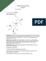 Fichas de Información Técnica Laboratorio
