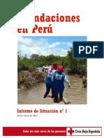 Inundaciones en el Perú
