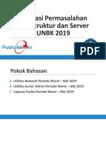 Utilitas Network Dan Server UNBK 2019