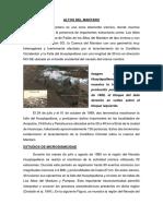 Altos Del Mataro y Falla de Satipo