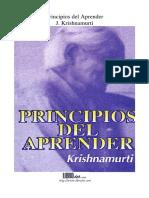 PRINCIPIOS DEL APRENDER