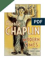 Unidad Didáctica a Partir de TIEMPOS MODERNOS Charles Chaplin,