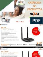 Catalogo Nexxt Mayo 2019