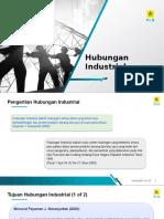 Hubungan Industrial - Div Hcms