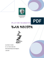 Plan de Marketing Bar Hector