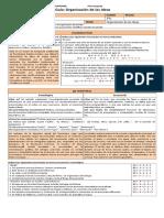 3M PSU 201 Guía 6. Organización de Las Ideas (3p) - Copia
