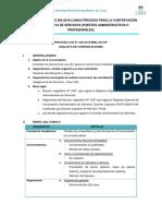 Convocatoria JUNIO 2019 - Administrativos 2