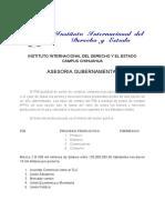 Instituto Internacional Del Derecho y El Estado Campus Chihuahua