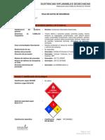 HDST Nº8 Sustancias Inflamables Desechadas