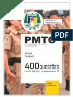 400 questões PMTO