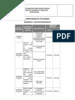 Plantilla de Cronograma Para Formacion Complementaria Virtual1